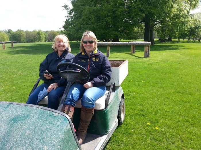 recording bramham in a buggy